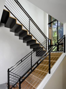 Cầu thang sắt mẫu 6
