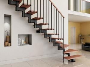 Cầu thang sắt mẫu 8