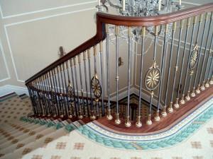 Cầu thang sắt mẫu 2