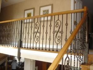 Cầu thang sắt mẫu 3