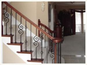 Cầu thang sắt mẫu 4