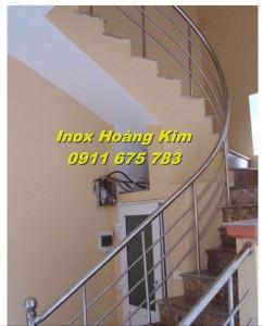Cầu thang inox mẫu 17