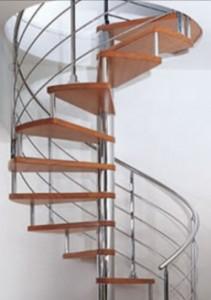 Cầu thang inox mẫu 8