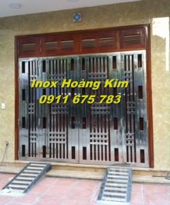 Cổng inox mẫu 22