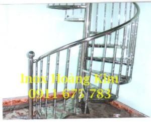 Cầu thang inox mẫu 23