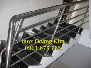 Cầu thang inox mẫu 25