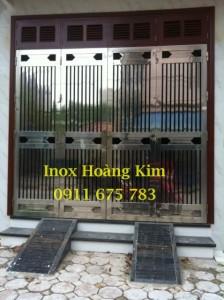 Cổng inox mẫu 30