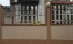 Hàng rào inox mẫu 6