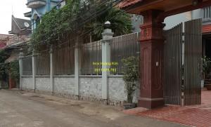 Hàng rào inox mẫu 7
