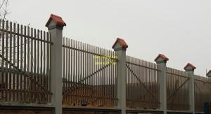 Hàng rào inox mẫu 9