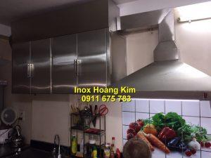 Tủ bếp inox mẫu 6