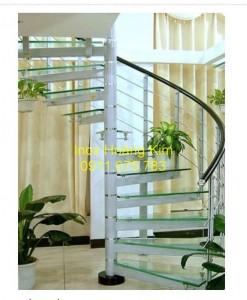 Cầu thang inox mẫu 31
