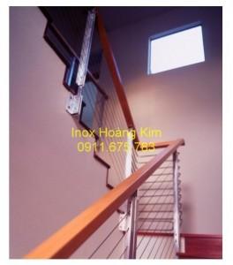 Cầu thang inox mẫu 32