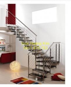 Cầu thang inox mẫu 34