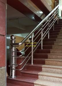 Cầu thang inox mẫu 41