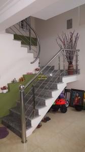 Cầu thang inox mẫu 42