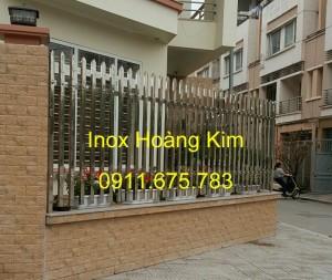 Hàng rào inox mẫu 13
