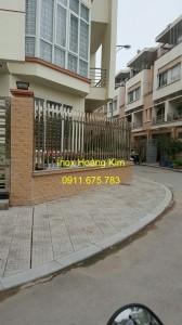Hàng rào inox mẫu 12