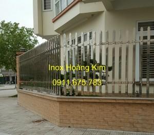 Hàng rào inox mẫu 14