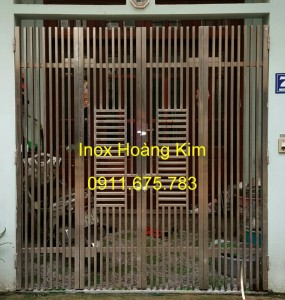 Cổng inox mẫu 66