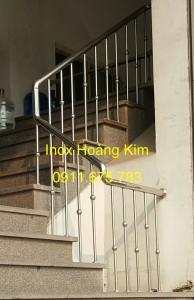 Cầu thang inox mẫu 44