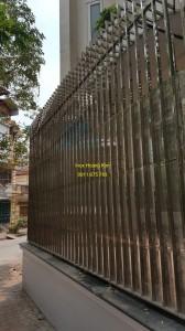 Hàng rào inox mẫu 17