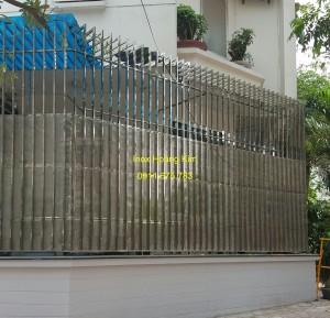 Hàng rào inox mẫu 19