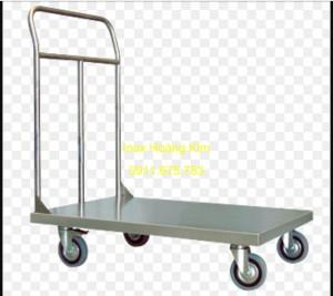 Xe đẩy inox mẫu 1
