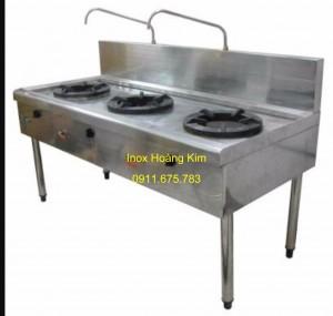 Bếp nhà hàng inox mẫu 4