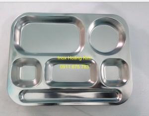Khay đĩa inox mẫu 1