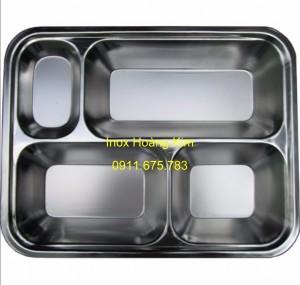 Khay đĩa inox mẫu 5