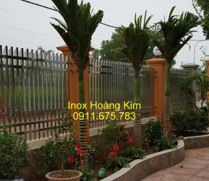 Hàng rào inox mẫu 22