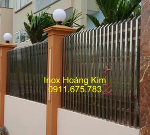Hàng rào inox mẫu 23