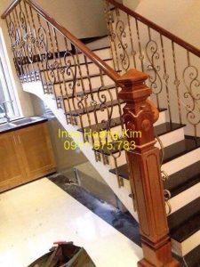 Cầu thang inox mẫu 59