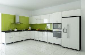 Chất liệu tủ bếp được ưa chuộng – Inox
