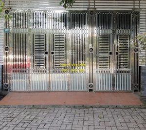 Cổng inox mẫu 148
