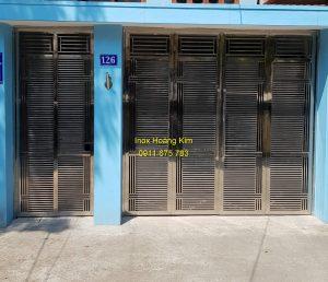 Cổng inox mẫu 146