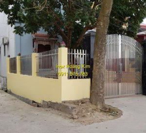 Hàng rào inox mẫu 24