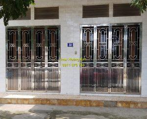Cổng inox mẫu 158