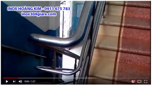 Video Cầu thang inox chuyên nghiệp – Inox Hoàng Kim