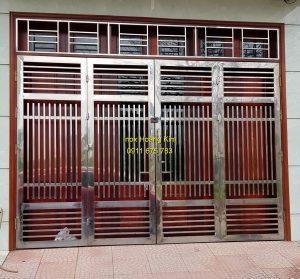cổng inox mẫu 165