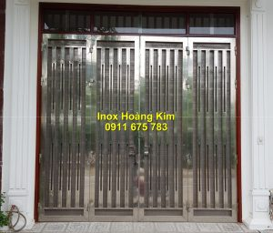 Cổng inox mẫu 167