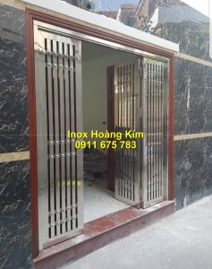Cổng inox mẫu 178