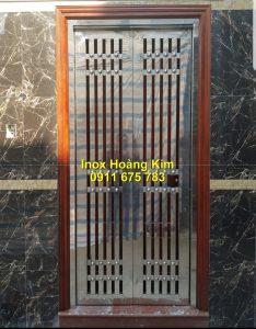 Cổng inox mẫu 179