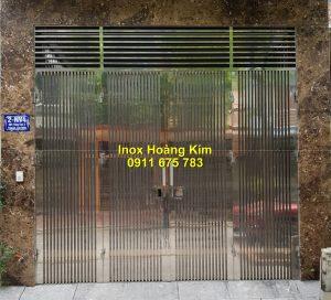 Cổng inox mẫu 183