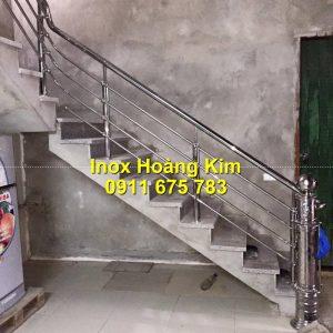 Cầu thang inox mẫu 67