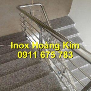 Cầu thang inox mẫu 69