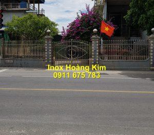 Hàng rào inox mẫu 47
