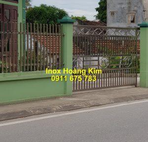 Hàng rào inox mẫu 41