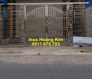 Cổng inox mẫu 229